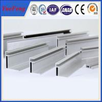 Extruded aluminium profile for PV solar panel frame Manufactures