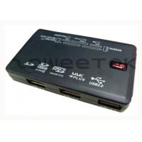 USB Peripheral 61 in 1 - SD(7 in 1) / MS(3 in 1) / CF - USB Memory Card Reader and 3 ports USB Hub Combo Manufactures