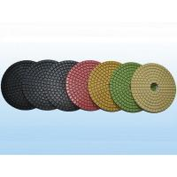 7 Step Diamond Colorful Concrete Polishing Resin Pads Manufactures