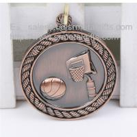 China Custom blank basketball medals, metal blank sports trophy and award medals selection, on sale