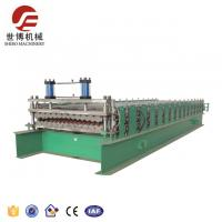 China Corrugated and Trapezoid Galvanized Roofing Sheet Roof Tile Machine For Tile With New Cutting Frame on sale