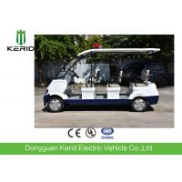 Buy cheap Battery powered electric security  vehicle 6 seats electric security patrol car from wholesalers