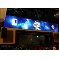 Anti UV Flat Screen Advertising Display , SMD3528 10mm LED Display Stability Manufactures