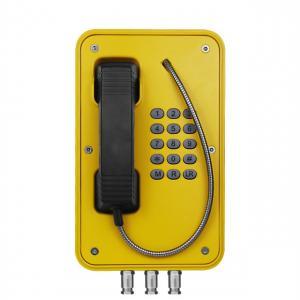 Watertight Industrial Weatherproof Telephone For Railway Platform / Highway Side Manufactures