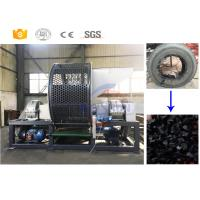 China Low cost used rubber tire recycling cutting equipment manufacturer with CE on sale