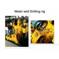 High Performance Water Well Drilling Rig 180 Depth Easy Operation For Core Drilling