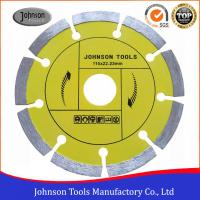 Sintered Diamond Cutting Disc 115mm , Dry Cut Saw Blade Fast Cutting Manufactures