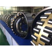 GCr15 Self Aligning Roller Bearing With Machined Brass Cage / Tapered Bore Manufactures