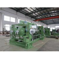 Two Roll Mill Machine With Hard Cast Alloy Iron For Plastic Mixing Mill Manufactures