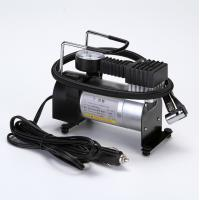 Small Metal Air Compressor 140psi Black andd Silver Pump For Car Manufactures