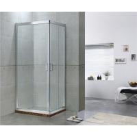 Sliding Aluminum Alloy Shower Doors with Stainless Steel Wheels for Apartment / Hotel Manufactures