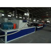 Double - Wall Plastic Pipe Extrusion Line PVC Plastic Pipe Extrusion Machine Manufactures