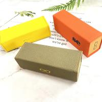 China Factory New Design Eco-Friendly Top Quality Handmade Canvas Folding Sunglasses Case on sale