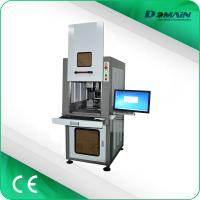 China Full-Closed Protective Cover Fiber Laser Marking Engraving Machine for Jewelry Gold on sale