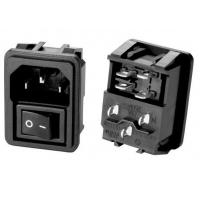 Buy cheap IEC 60320 C14 3PIN Electrical AC Power Plugs Female Sockets 15A 250V AC Screw from wholesalers