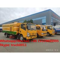 HOT SALE!2019s new ISUZU Brand road washing sweeper vehicle for sale, Best price ISUZU street sweeping truck for sale for sale