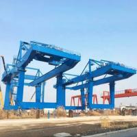 Tower Fixed Mobile Container Crane Electric Hoist Port Shipyard Outdoor Long Span Manufactures