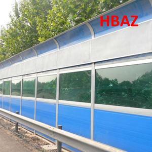 China transparent sound barrier/transparent noise barrier on sale