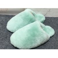 100% Handmade Durable Sheep Wool Slippers Soft Dyed Colors For Toddler / Adults Manufactures
