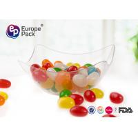 Custom Clear Plastic Bowls Food Grade Disposable Dessert Cups Manufactures