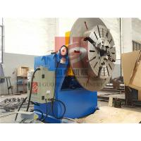 600KG Rotary Welding Positioner with Quick Chuck / Clamper ,  Rotary Positioners Manufactures