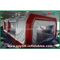 Waterproof Inflatable Air Tent PVC Spray Booth For Car Paint Spraying Manufactures
