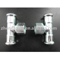 China Casting Carbon Steel Press Fittings Galvanizational Female Carbon Steel Pipe Tee on sale