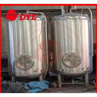 Semi-Automatic Small Home Bright Beer Tanks For Wine 1 - 3 Layers Manufactures