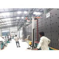Durable Vacuum Insulating Glass Production Line 50 Mm PLC Control System Manufactures