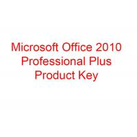 China Windows Microsoft Office 2010 Key Code Professional Plus Version Retail 500 PC on sale