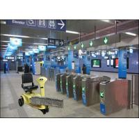 Smooth Ground Ride On Floor Cleaning Machine In Metro Stations Manufactures