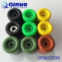 Shanghai Qinuo Manufacture 20x10mm Silicone Molded Door Stop Rubber Manufactures