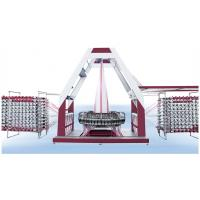 Middle Size PP Woven Bag Production Line 4 Kw Motor Power 3 T Weight With 6 Shuttles Manufactures