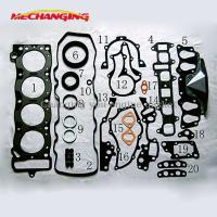 China For TOYOTA CORONA 21R 21R-U Full Gasket Set Automobiles Spare Engine Parts Overaul Package Engine Gasket 04111-37022 on sale