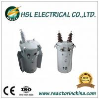 11kv 33kv oil immersed single phase pole mounted power transformer Manufactures