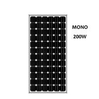 200W/Watts Monocrystalline Solar Panel At Low Price Solar photovoltaic panels Chian factory Manufactures