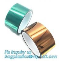 China Acrylic Polyester Film Tape Double Sided PET Tape for Banner,PET 50mm*50m hot sale security tape for sealing bagease on sale