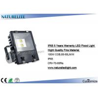 Finned 100W Led Flood Light Epistar 70-85 CRI 85-90lm/W Lumens for Building, Advertisement, ect Lighting Manufactures