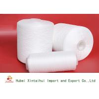 Ne 30s/3 100 Polyester Spun Yarn  , Polyester Ring Spun Yarn Low Hairiness Manufactures