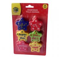 Fancy colorful star pencil sharpener Manufactures