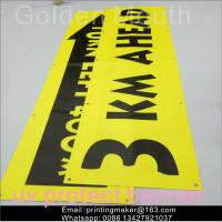 Uv Printing Outdoor Polyester Vinyl Advertising Banners For Business Manufactures
