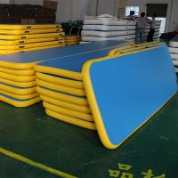 Completely Silent Inflatable Yoga Mateasy Maintenance For Amusement Park
