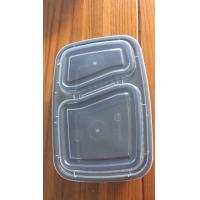 China PP Food Grade Plastic Containers , Polypropylene Food Containers Black / White Color on sale