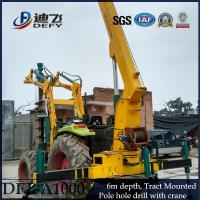 China Manufacturer of 1-6m Depth DFT-A1004 Screw Pile Driver on sale