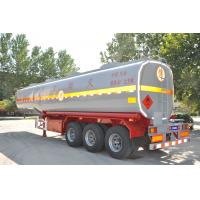 stainless steel fuel tank -semi-trailer-tanker with good dimension for sale Manufactures