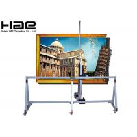 Outside Home Decor Auto 3D Vertical Wall Printer , Wall Poster Printing Machine Manufactures