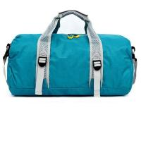 Large Volume Sports Duffel Bag Nylon Material Round Shape 33 * 50 * 18CM Manufactures