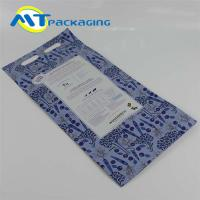 China Oxygen Isolation Quad Seal Pouch Customized Thickness Laminated material on sale