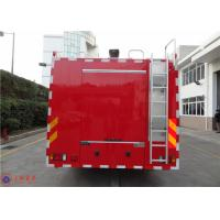 ISUZU Chassis Commercial Fire Trucks Dry Powder For Petrochemical Enterprises
