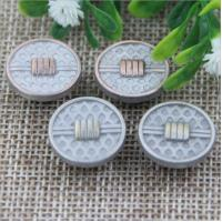 2018 Explosion models spiral high-grade anti brass color alloy 17 mm jeans buttons for apparel accessories Manufactures